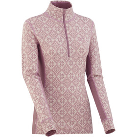 Kari Traa Rose Half-Zip Shirt Women Petal